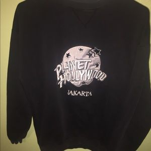 Other - Planet Hollywood crewneck